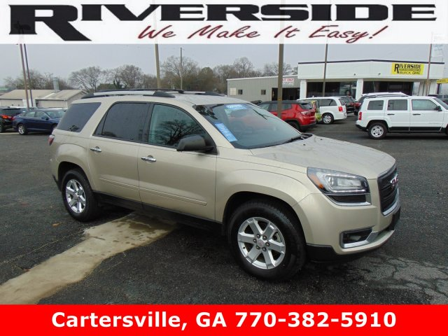 Certified Pre-Owned 2015 GMC Acadia SLE