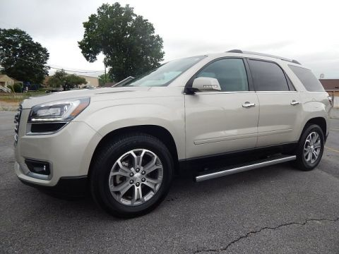 Certified Pre-Owned 2015 GMC Acadia SLT With Navigation